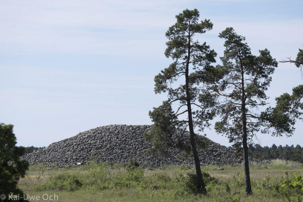 Hügelgrab bei Ronehamn