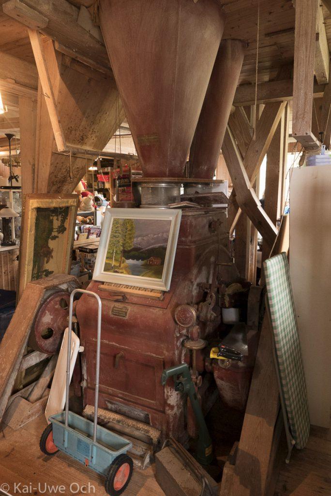 Bergs Kvarn - historische Mühle und Trödelladen