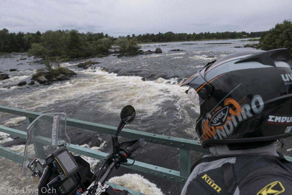 Daläven - viel Wasser im Fluss!